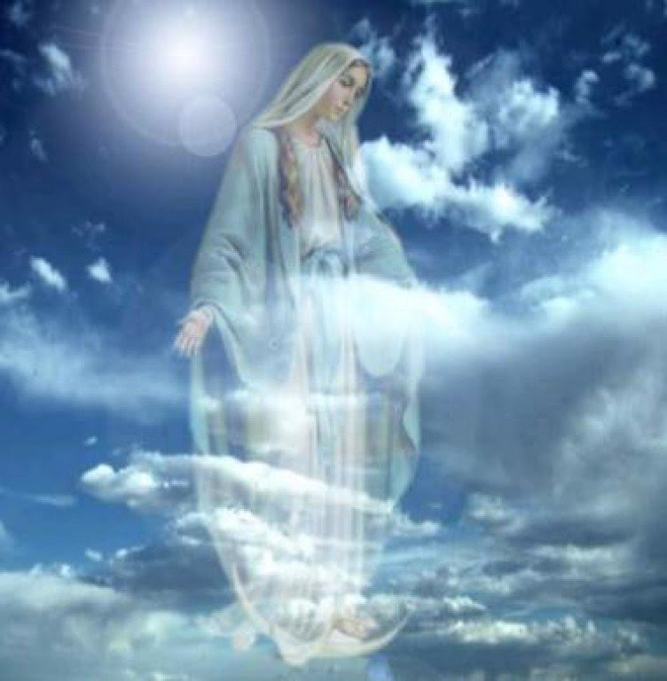Blessed Virgin Mary in Heaven